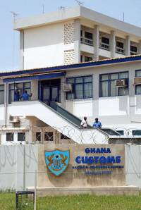 Ghana Customs at Kotoka International Airport