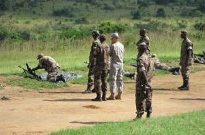 US Rwanda military training Nov. 2008