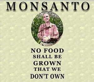 Monsanto: No food shall be grown that we don't own