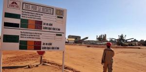 Areva Mining operations in  Niger, source of most of the uranium for France's nuclear power industry