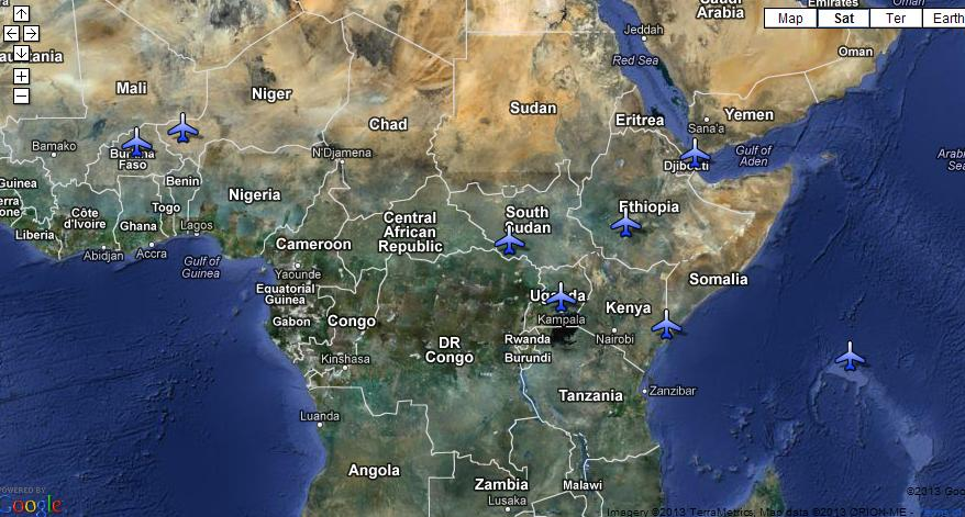 Where AFRICOM Is Active In Africa May Crossed Crocodiles - Us military bases in africa map